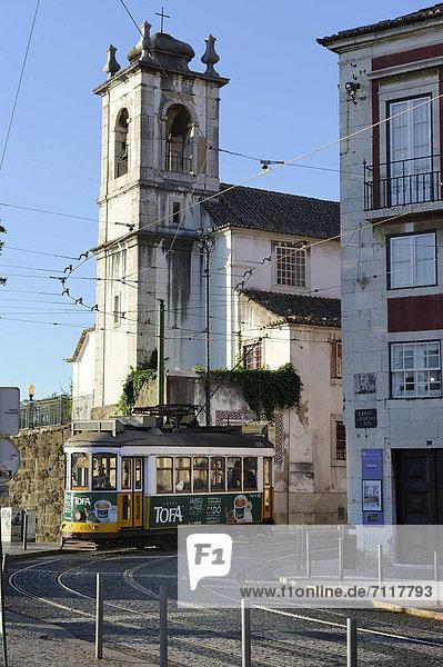Lissabon Hauptstadt Europa Altstadt Alfama Portugal