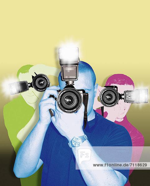 Paparazzi-Fotografen