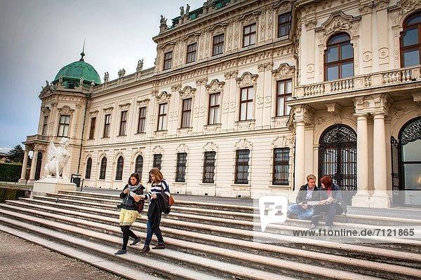 Wien  Hauptstadt  Europa  Österreich  Schloss Belvedere