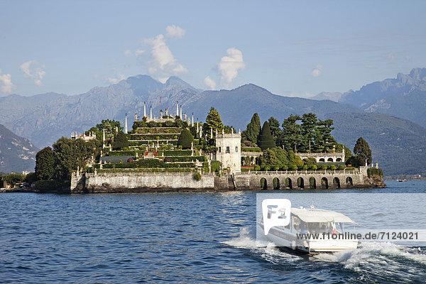 Europa  Urlaub  Reise  Insel  Alpen  Langensee  Lago Maggiore  Lago Maggiore  Isola Bella  Italien  Piemont  Stresa  Tourismus