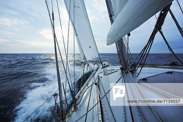 Segeln Boot Meer Baltikum