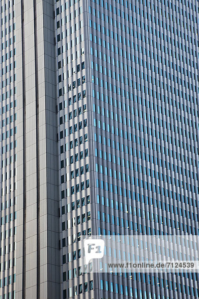Bürogebäude  Glas  Hochhaus  Tokyo  Hauptstadt  Architektur  Büro  Asien  Japan  japanisch  modern  Shinjuku  Stahl
