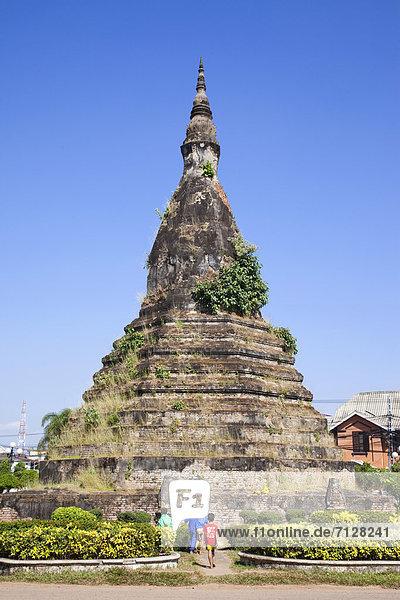 Vientiane  Hauptstadt  Urlaub  Reise  Asien  Laos  Tourismus