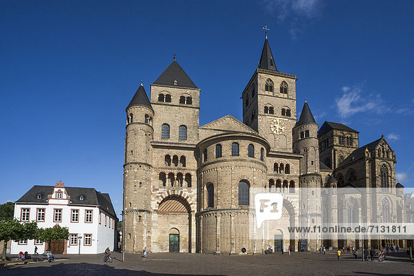 Germany  Europe  travel  Trier  Dome  Cathedral  architecture  church  colourful  history  religion  roman  skyline  square  Unesco