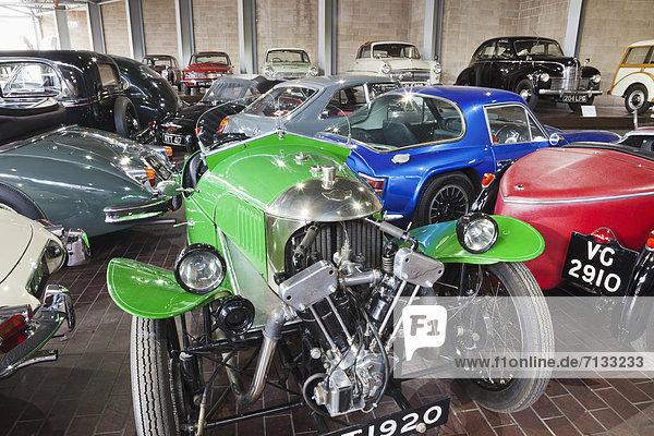 Rennwagen  Europa  Sportwagen  Auto  britisch  Großbritannien  Museum  Wald  England  Hampshire