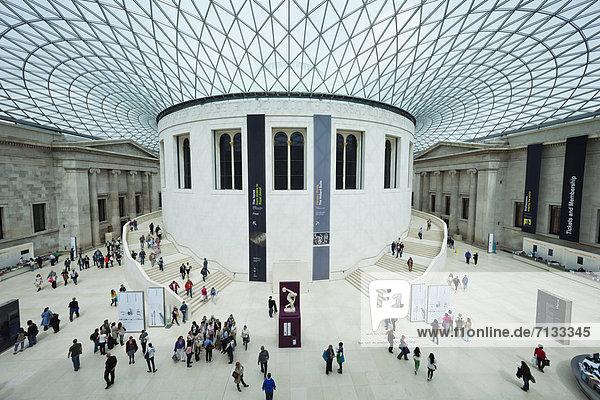 Europa  britisch  Großbritannien  London  Hauptstadt  Innenaufnahme  Museum  British Museum  England