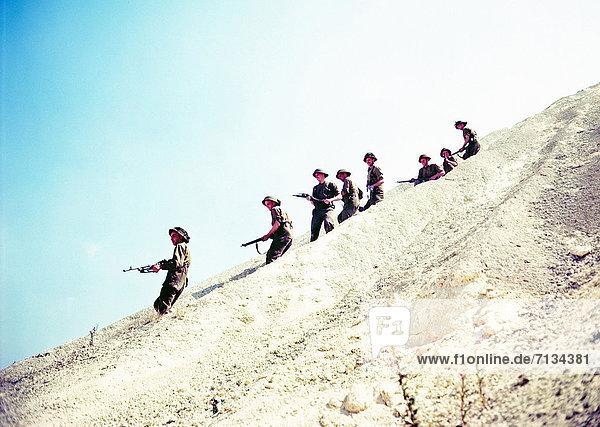 Frankreich  Küste  Soldat  kanadisch  Infanterie  Normandie