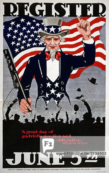 Vereinigte Staaten von Amerika  USA  Schreibfeder  Feder  Versprechen  Nationalität  Poster  amerikanisch  Menschenmenge  Bewerbung  Uncle Sam