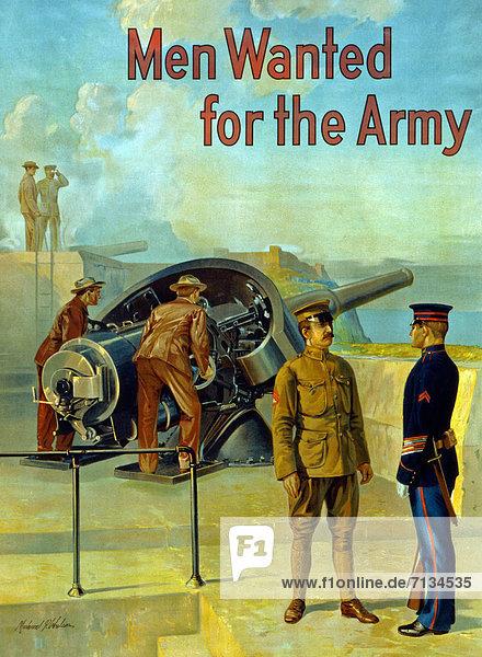 Vereinigte Staaten von Amerika  USA  Soldat  Poster  amerikanisch  Heer  Offizier  Bewerbung