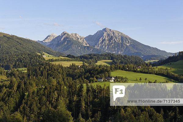 Kleiner und Großer Pyhrgas  Windischgarsten  Region Pyhrn-Priel  auch Pyhrn-Eisenwurzen  Traunviertel  Oberösterreich  Österreich  Europa