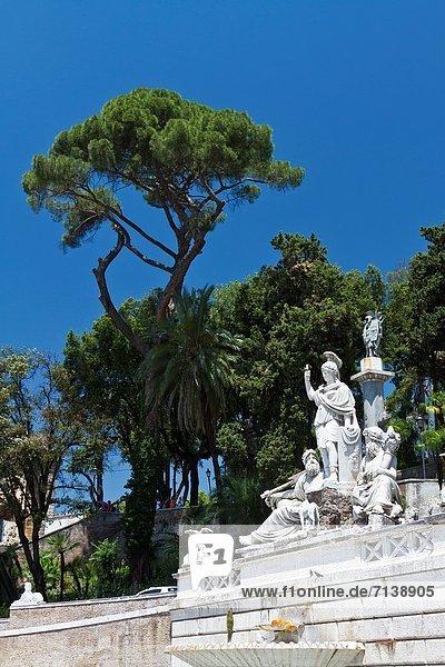 Rom  Hauptstadt  Architektur  Quadrat  Quadrate  quadratisch  quadratisches  quadratischer  Italien  römisch