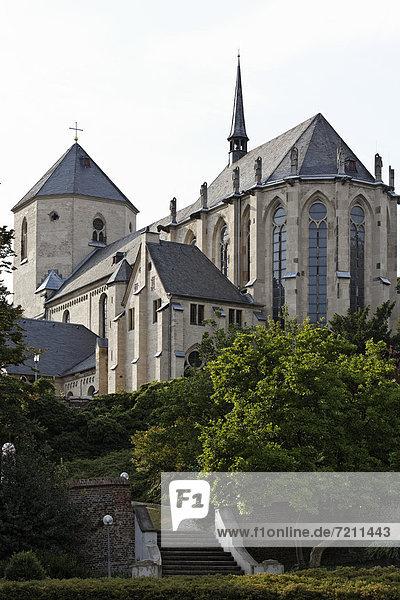 Münster St. Virus  Mönchengladbach  Nordrhein-Westfalen  Deutschland  Europa