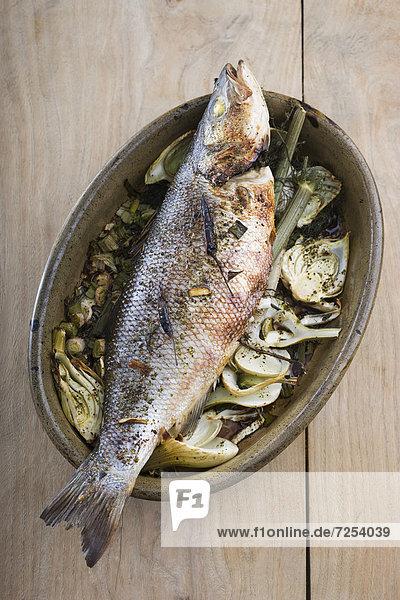 Sojabohne  Fisch  Pisces  Soße  Ingwer