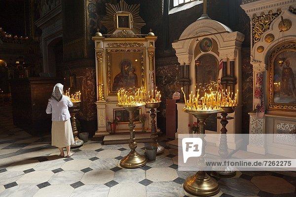 St. Vladimir-Kathedrale  Kiew  Ukraine  Europa
