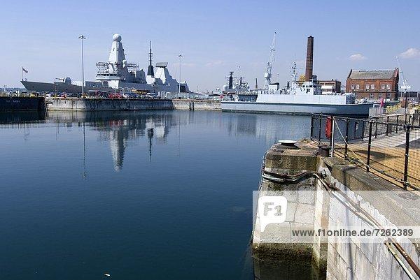 Europa  Großbritannien  Portsmouth  England  Hampshire