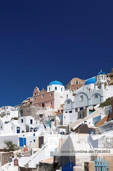 Oia  Santorini  Kykladen  griechische Inseln  Griechenland  Europa
