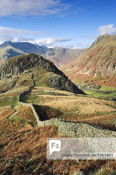 Biegung  Biegungen  Kurve  Kurven  gewölbt  Bogen  gebogen  Europa  Berg  Großbritannien  Ignoranz  groß  großes  großer  große  großen  Cumbria  England  Lake District