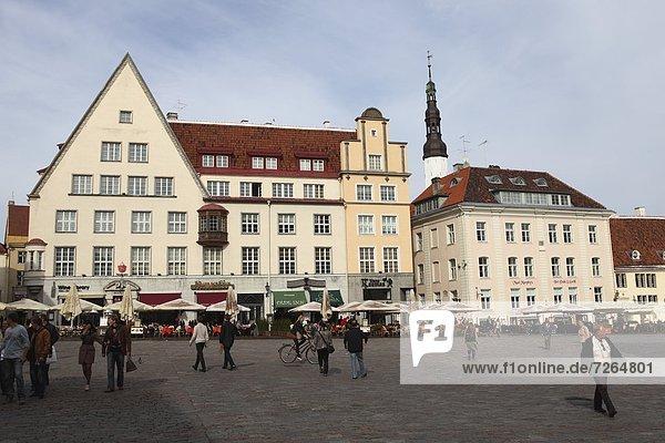 Tallinn  Hauptstadt  Europa  Lifestyle  Gebäude  Halle  Stadt  Quadrat  Quadrate  quadratisch  quadratisches  quadratischer  täglich  UNESCO-Welterbe  Estland