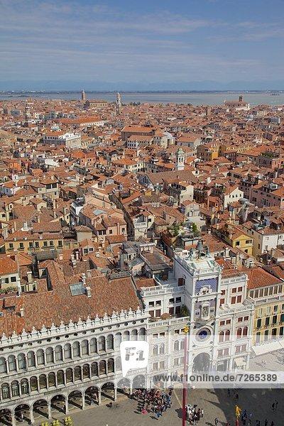 Europa  Markusplatz  UNESCO-Welterbe  Venetien  Italien  Venedig