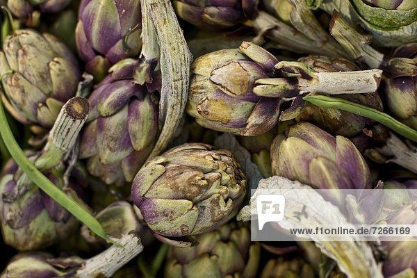 Europa  Frische  Morgen  Gemüse  1  Mallorca  Balearen  Balearische Inseln  Markt  Pollenca  Spanien  Sonntag
