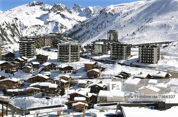 Tignes-le-Lac  Tignes  Savoie  Rhone-Alpes  French Alps  France  Europe