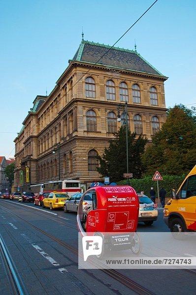 Prag Hauptstadt Europa Straße Stadt Tschechische Republik Tschechien November alt
