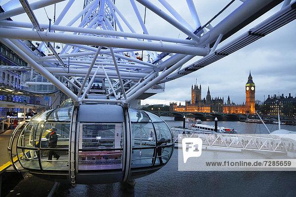 London Eye  London  Großbritannien