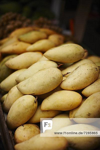 Mango zum Verkauf auf dem Markt