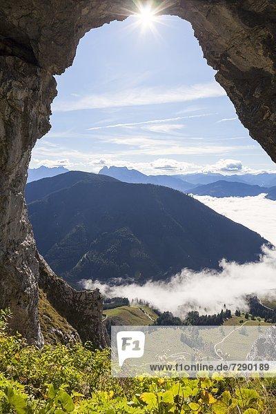 Wildfrauenhöhle am Bosruck in den Ennstaler Alpen  Steiermark  Österreich