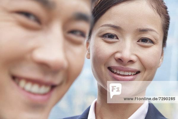 Mensch  Menschen  lächeln  chinesisch  Business