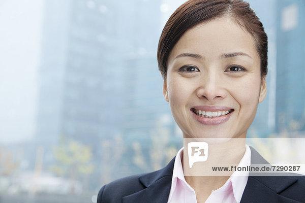 Geschäftsfrau  lächeln  chinesisch
