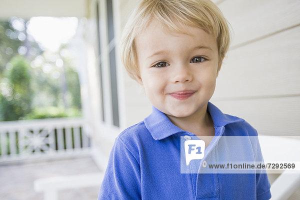 Europäer lächeln Junge - Person