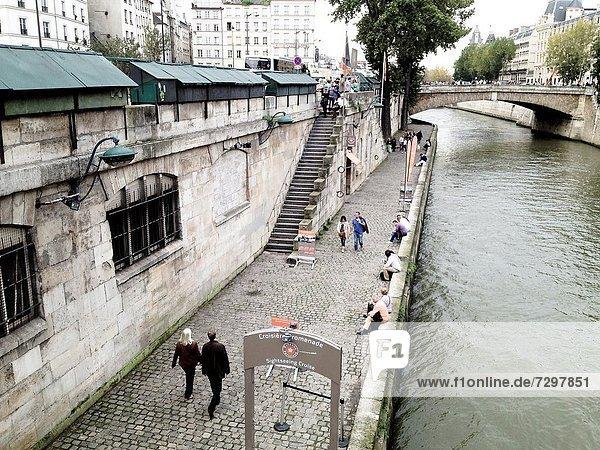 Seine River Paris  France