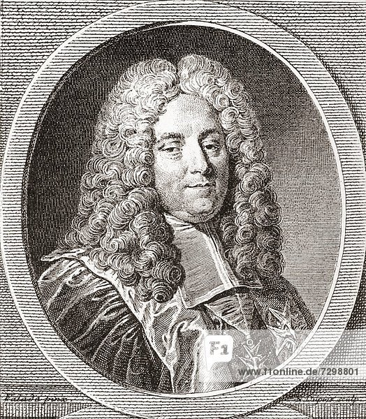 Henri François d´Aguesseau  1668 – 1751 Three times Chancellor of France From Les Heures Libres published 1908