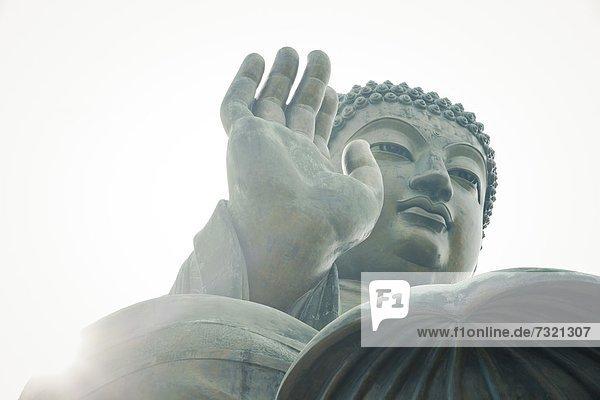 Tian Tan Buddha  Lantau Island  Hong Kong  China