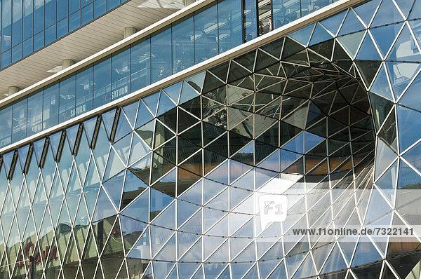 Europa Fassade Hausfassade kaufen Frankfurt am Main Deutschland Hessen modern MyZeil