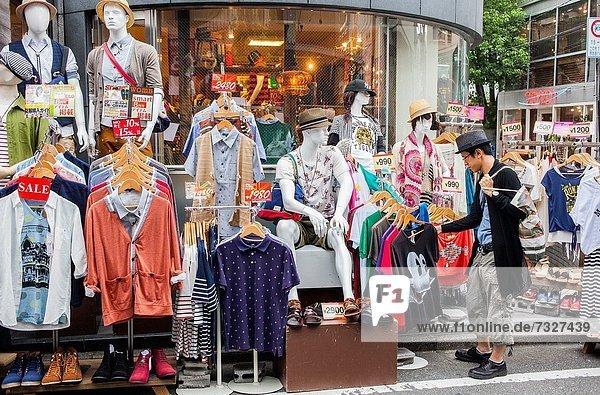 Großstadt  Tokyo  Hauptstadt  Laden  Asien  Japan