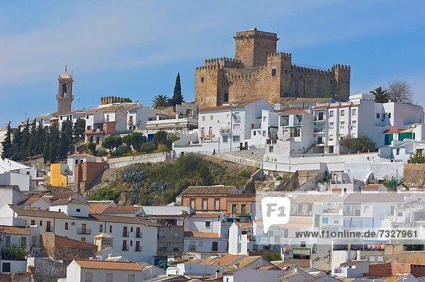 Palast  Schloß  Schlösser  Andalusien  Spanien