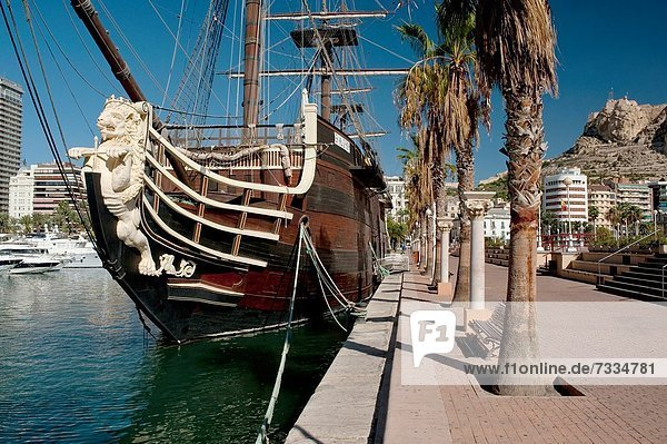 Hafen  Europa  Tretboot  Spanien