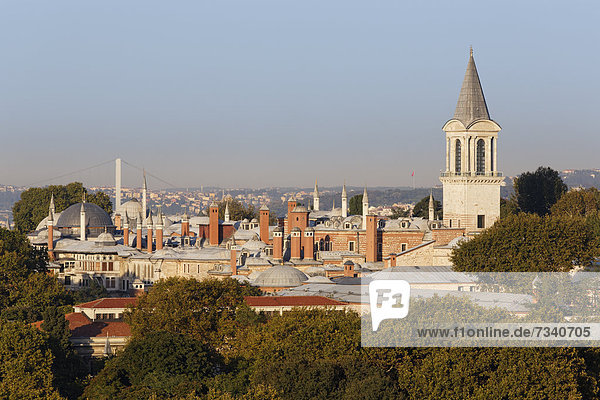 Topkapi Palace  Sultanahmet  Istanbul  Turkey  Europe
