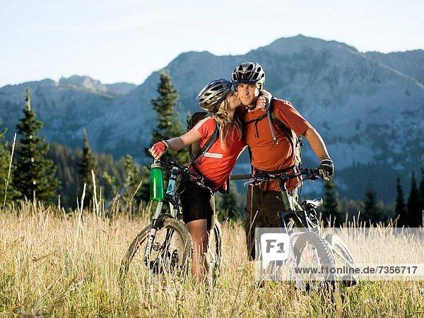 Berg  küssen