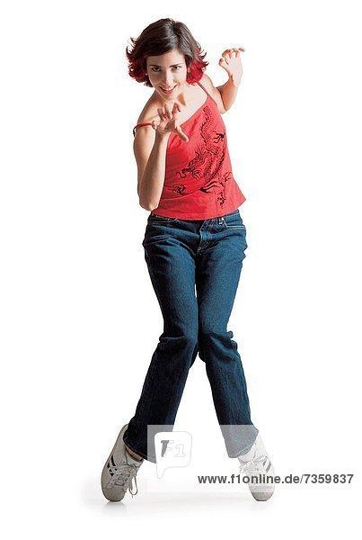 Flamencotänzerin klatscht