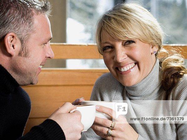 Wärme  Getränk  trinken  Erwachsener