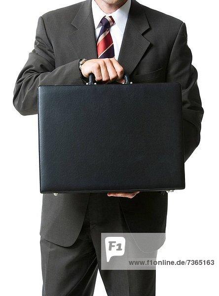 Anschnitt  Geschäftsmann  halten  Mittelpunkt  Ansicht