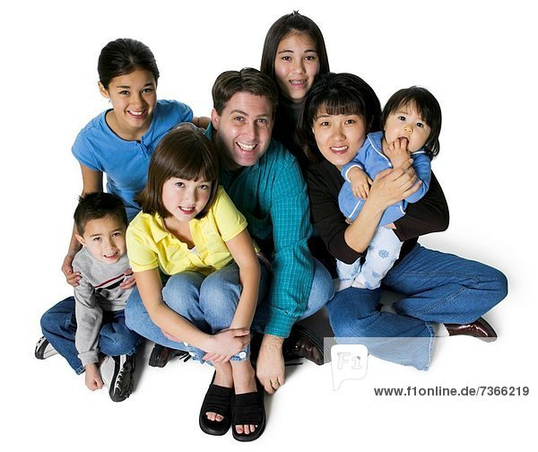 sitzend  Portrait  Menschliche Eltern