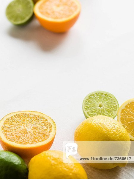 Lemons limes and oranges