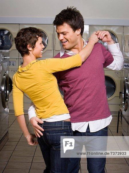 tanzen  Waschsalon