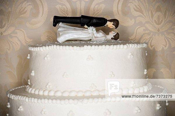 Hochzeit  Kuchen  Figur
