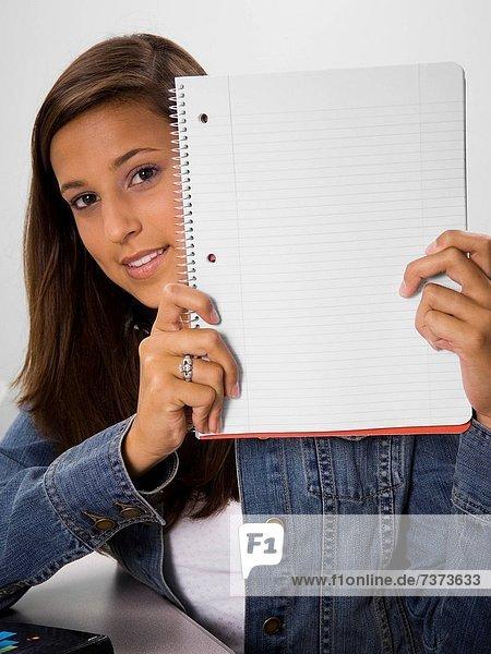 halten  Student  Schulbuch  unbeschrieben