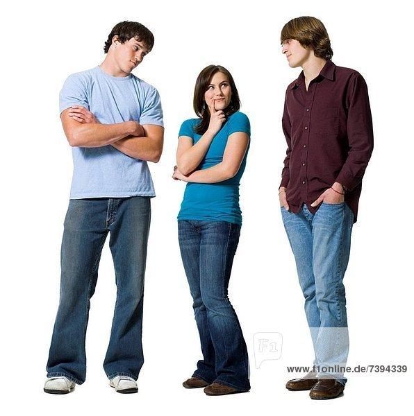 Entscheidung  Junge - Person  2  Mädchen